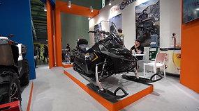 EICMA motociklų parodoje – žiemos motociklai