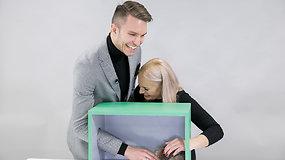 """Projekte """"Atspėk, kas dėžėje"""" – nauja išdaiga: to Martynas ir Rusnė Kavaliauskai tikrai nesitikėjo"""