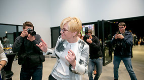 """Ingridos Šimonytės džiaugsmo šokis veržėsi pagal roko grupės """"Metallica"""" muziką"""