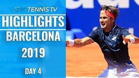Ketvirtoji ATP diena Barselonoje: paskutinis D.Ferrero mačas, D.Thiemo ir K.Nishikorio pergalės