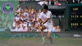 Novakas Džokovičius – Rogeris Federeris. Dvikovos akimirkos