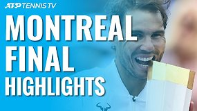 """Rogers Cup"" finale – R.Nadalio pergalė ir penktasis trofėjus"