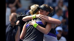 """US Open"": Belinda Benčič prieš Donną Vekič"