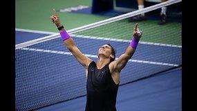 """US Open"": Daniilas Medvedevas prieš Rafaelį Nadalį"