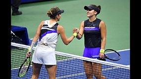 """US Open"": Belinda Benčič prieš  Bianca Andreescu"