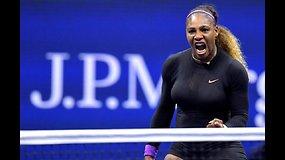 """US Open"": Elina Svitolina prieš Sereną Williams"