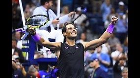 """US Open"": Rafaelis Nadalis prieš Matteo Berrettini"
