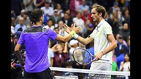 """US Open"": Daniilas Medvedevas prieš Grigorą Dimitrovą"