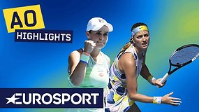 """Australian Open"" ketvirtfinalis: Ashleigh Barty – Petra Kvitova"