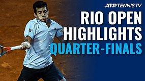 """Penktosios """"Rio Open"""" dienos apžvalga"""