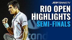 """""""Rio Open"""" pusfinalių apžvalga"""