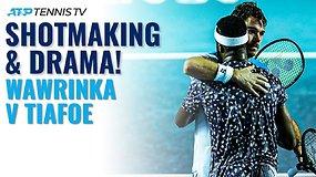 Pirmą ATP turnyro Akapulke dieną – dramatiškas S.Wawrinkos ir F.Tiafoe mūšis