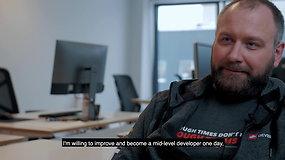 """""""Sourcery for Developers"""" akademijos absolvento Vaido Valikonio istorija"""