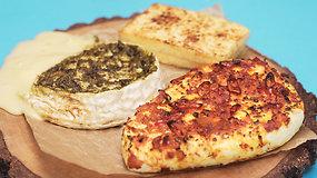 Gurmano sapnas: grilyje kepti sūriai
