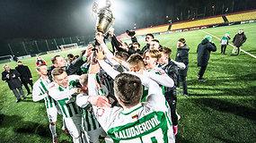 """""""Žalgiris"""" – Lietuvos čempionas"""