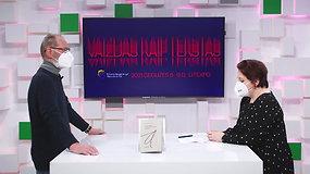 """Vilniaus knygų mugės """"Šortai"""": Elžbieta Banytė kalbina Alfonsą Andriuškevičių"""
