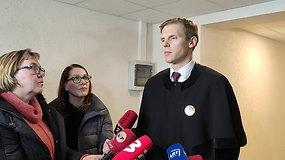 Nukentėjusiosios advokato Mindaugo Vasiliausko komentaras