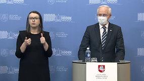 Ministro A.Monkevičiaus komentarai apie pasiruošimą nuotoliniam mokymui