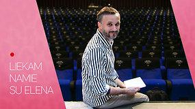 Teatro dieną namie švenčiantis Eimutis Kvoščiauskas atvirai prakalbo apie sudėtingą situaciją