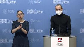 """Komentarai iš Vyriausybės: dalyvauja viceministras A.Šešelgis, savivaldybių merai ir """"The Roop lyderis V.Valiukevičius"""