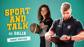 """""""Sport and talk"""" su Dalia Belickaite: T.Jackūnas apie šeimos pagausėjimą ir darbą profesionaliame krepšinio klube"""