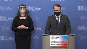 Iš Vyriausybės – kultūros ministro M.Kvietkausko ir ambasadorės I.Marčiulionytės spaudos konferencija