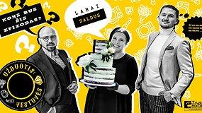 Konditerė J.Vasiljevaitė pataria, kaip nenuvilti svečių, kaip teisingai pasirinkti vestuvinį tortą ir įvardija jo kainas