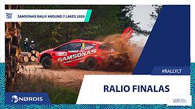 Samsonas Rally Around 7 Lakes 2020 finalas – nugalėtojas Martynas Samsonas!