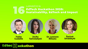 Edtech Hackathon 2020: Tvarumas ir švietimo technologijos