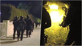 Per Lietuvos ir Ispanijos pareigūnų operaciją sulaikyta narkotikų kontrabandą gabenusi grupuotė