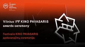 """Festivalio """"Kino pavasaris"""" apdovanojimų ceremonija"""
