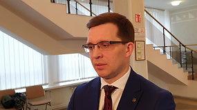 Nukentėjusiosioms atstovaujantis advokatas Karolis Rugys