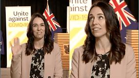 Internautus nustebino Naujosios Zelandijos premjerės reakcija, kai interviu metu prasidėjo žemės drebėjimas