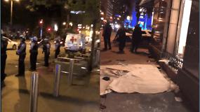 Generalinio konsulo Mantvydo Bekešiaus nufilmuota Čikaga po naktinių neramumų