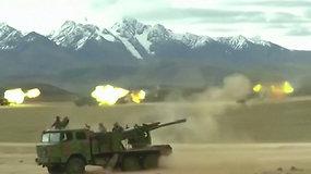 Įtampa tarp Indijos ir Kinijos prasiveržė: nužudyta 20 karių, galimas karinis konfliktas, šalys kaltina viena kitą