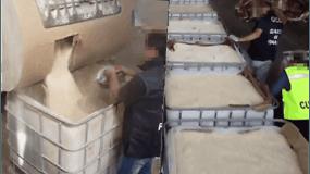 """Sulaikė vieną didžiausių narkotikų siuntų – 14 tonų """"Islamo valstybės"""" gaminto amfetamino"""