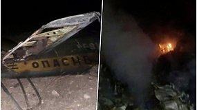 Azerbaidžanas pripažino netyčia numušęs Rusijos karinį sraigtasparnį