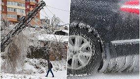 Rusijoje paskelbta nepaprastoji padėtis: tokio ledo sluoksnio regione nebuvo jau 30 m.