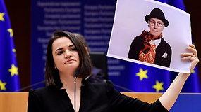 Baltarusijos opozicijai įteikta A.Sacharovo premija už žmogaus teisių ir minties laisvės gynimą
