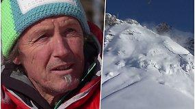 """Kvapą gniaužianti istorija iš pirmų lūpų: lavinos po sniegu palaidotas vyras išgyveno tik per plauką: """"Man tiesiog pasisekė"""""""