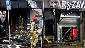 Lenkijos prekybos centre kilo sprogimas – jau penktasis per pastarąjį mėnesį