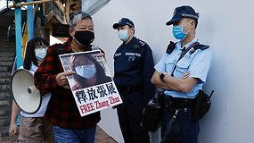 Honkonge areštuoti 53 opozicijos veikėjai: tarp suimtųjų – ir buvę įstatymų leidėjai, ir jauni aktyvistai už demokratiją