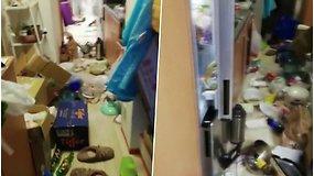 Tokio vaizdo savo namuose rasti nenorėtumėte: pamatykite, kaip atrodo butas po 7,3 balo žemės drebėjimo