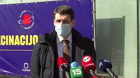 """R.Žemaitaičio komentarai po skiepo """"AstraZeneca vakcina nuo COVID-19"""