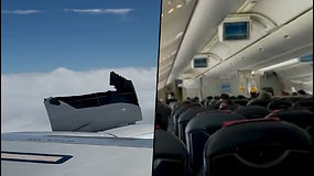 """Užsiliepsnojęs lėktuvo variklis priminė siaubą keliantį skrydį su """"Boeing 777"""": galvojau, kad greit mirsiu"""