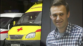 Kremliaus kritikas Aleksejus Navalnas perkeliamas į ligoninę