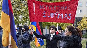 Vilniuje gyvenantys armėnai eitynėse išreiškė paramą Armėnijos pusei Kalnų Karabacho konflikte