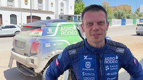 Vaidotas Žala: komentaras po finišo trečiajame Andalūzijos ralio etape