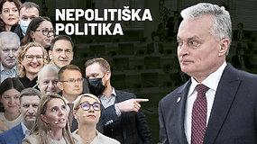 Kaip kandidatai į ministrus pas Mikę Pūkuotuką ir Knysliuką svečiavosi