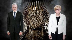 Politiniai sostų karai: politologai sako, kad G.Nausėda labiausiai nori būti matomas – kaip jam sekasi?